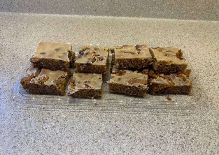 Delicious Peanut Butter Bars