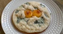 Hình ảnh món Trứng chiên mây trắng/Trứng chiên phô mai