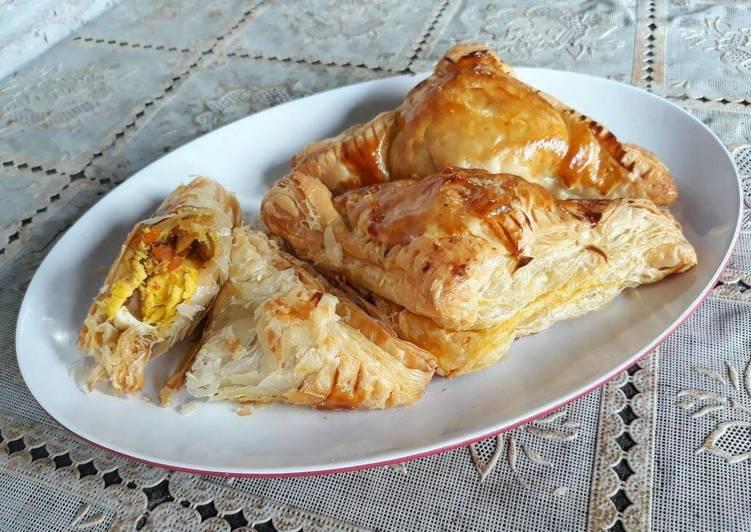 Curry Puff ala BreadTalk
