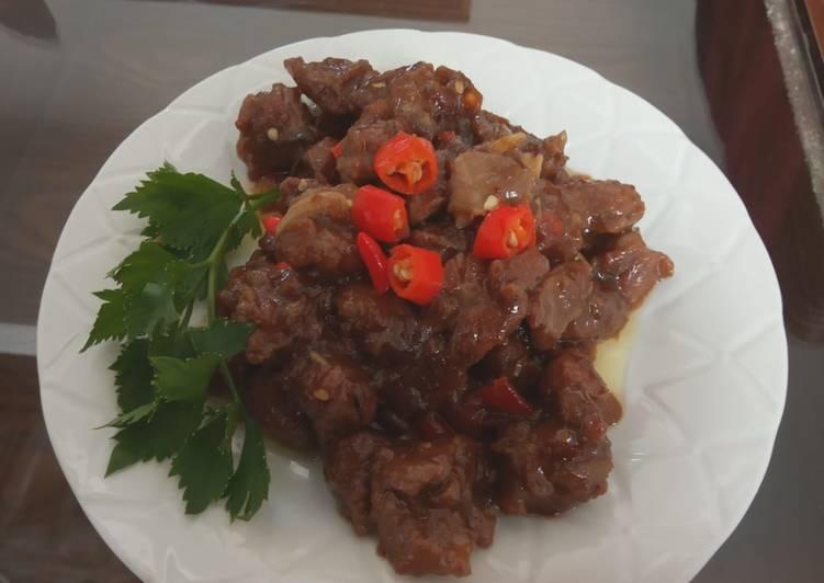 Resep #03 Sate kambing goreng Bikin Jadi Laper