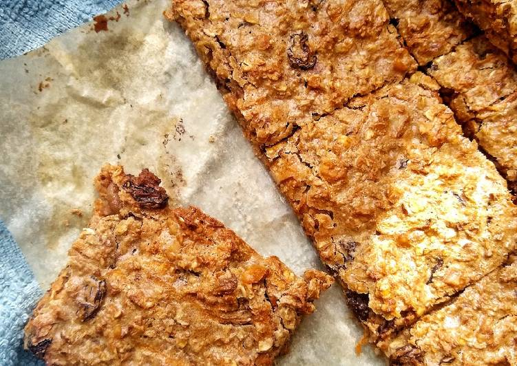 Easiest Way to Make Perfect Carrot & Walnut Oat Bars