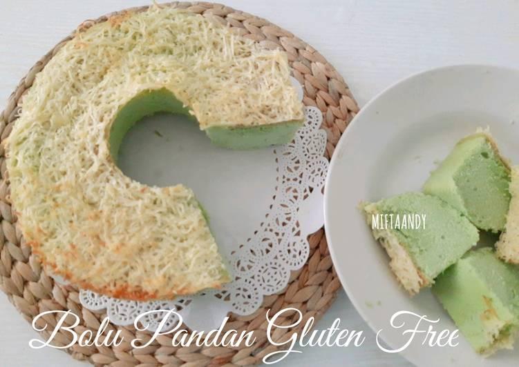 Bolu Pandan Gluten Free - cookandrecipe.com