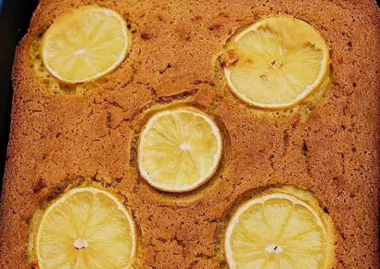 Easiest Way to Prepare Super Quick Homemade Lemon bake