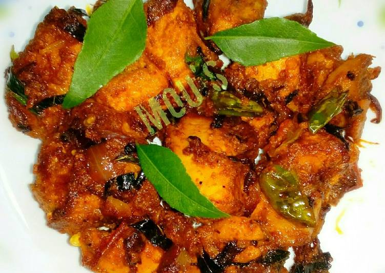 Kerala style chicken roast Finding Healthy Fast Food