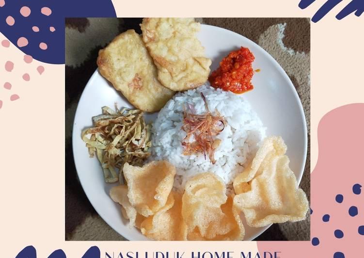 Nasi Uduk Home made