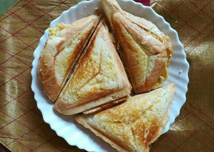 Recipe of Favorite Sandwich with egg filling