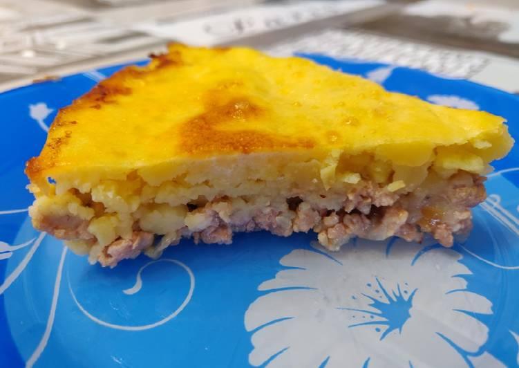 Запеканка из картофеля рецепт с фото пошагово