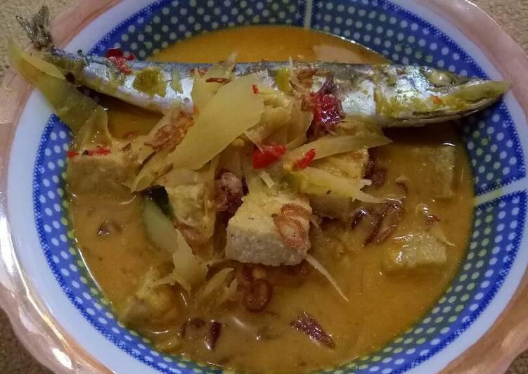 Sayur santan pepaya & ikan Pindang