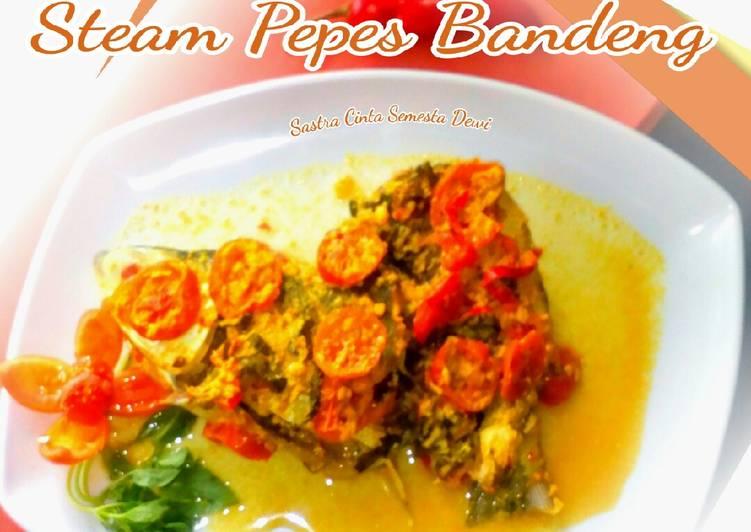 Steam Pepes Bandeng