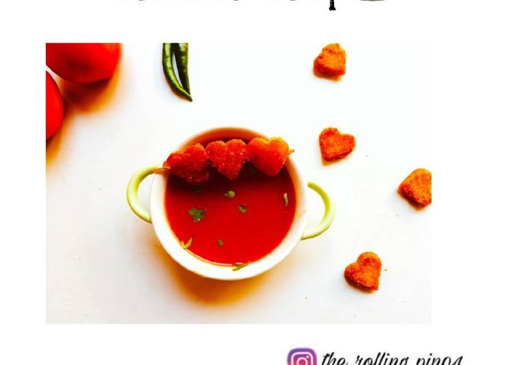 Steps to Prepare Homemade Tomato soup