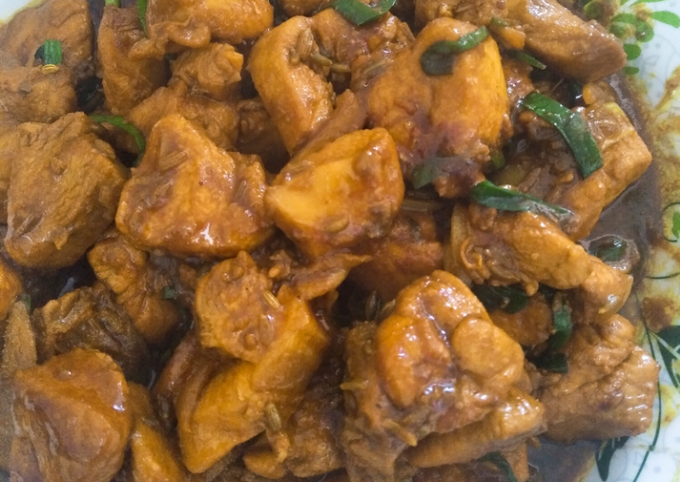 Resep Ayam masak asam jawa yang Lezat