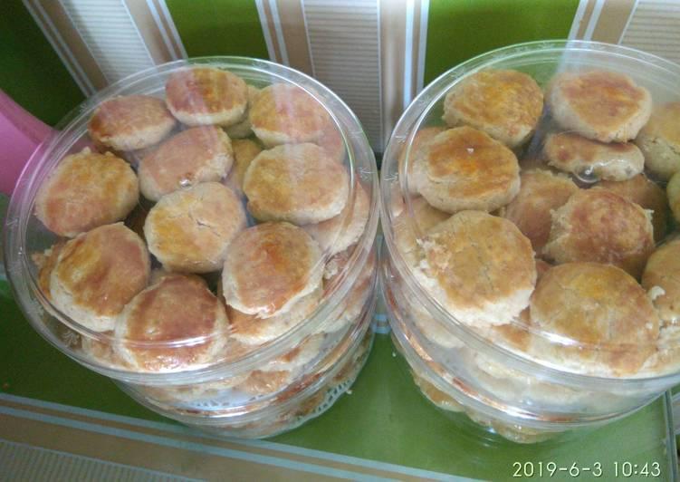 Kue kacang jadul (resep warisan mertua)