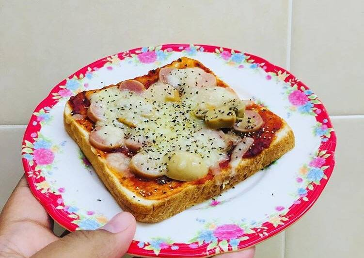 Resepi: Mini pizza roti gardenia #pinkboxcereal  2021