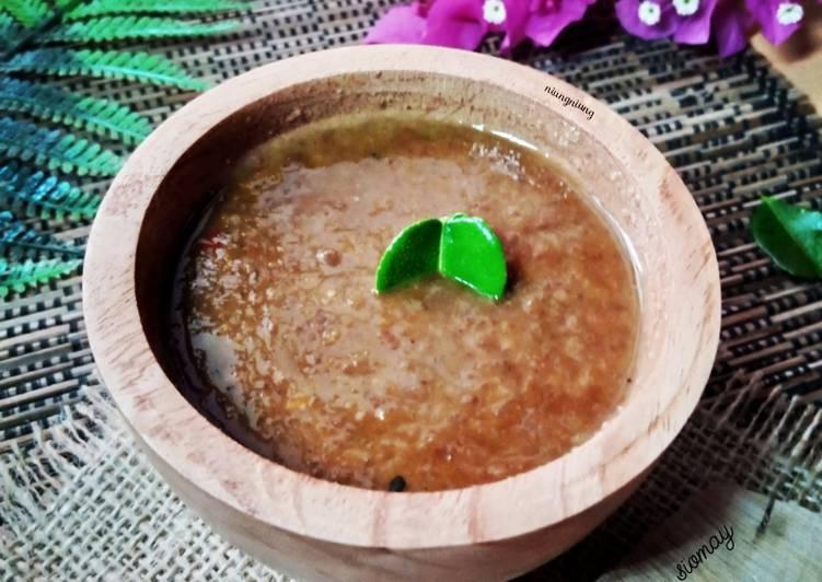 Resep Bumbu kacang siomay bandung Yummy