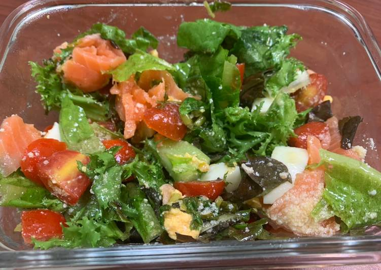 Simple Way to Make Homemade Smoked Salmon Salad