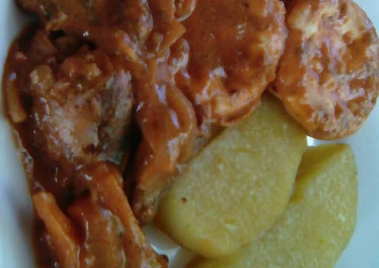 Mackerel In Coconut Sauce
