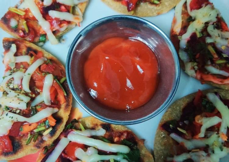 Rajma bhakri pizza