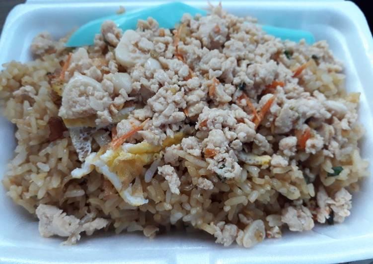 Nasi Goreng Ayam Cabe Garam