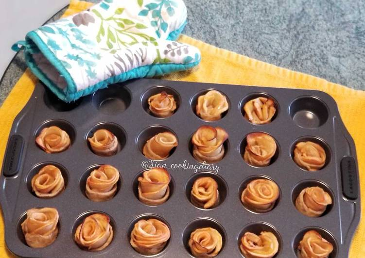 Easiest Way to Prepare Homemade Apple Cinnamon Rose Tarts