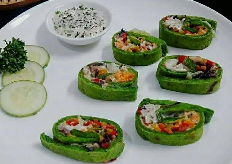 Step-by-Step Guide to Prepare Most Popular Spinach Veggie Pinwheels