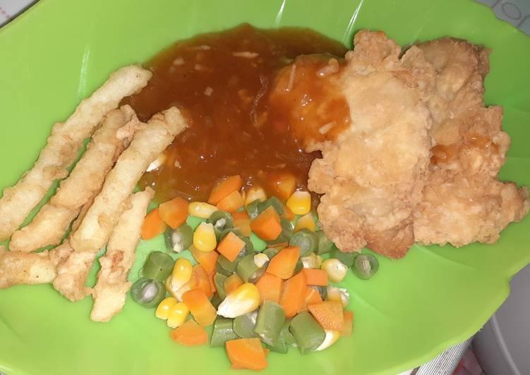 Steak Ayam Family