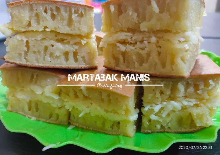 Martabak Manis / Terang Bulan (Teflon) - cookandrecipe.com