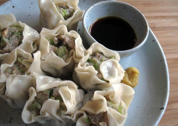 Recipe of Ultimate Pork & Vegetables Dim Sims