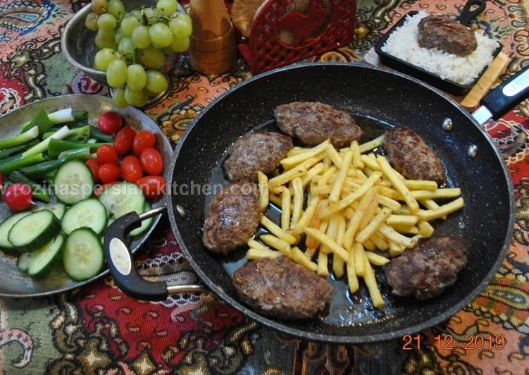 Kotlet (Iranian Meat Patties کتلت)