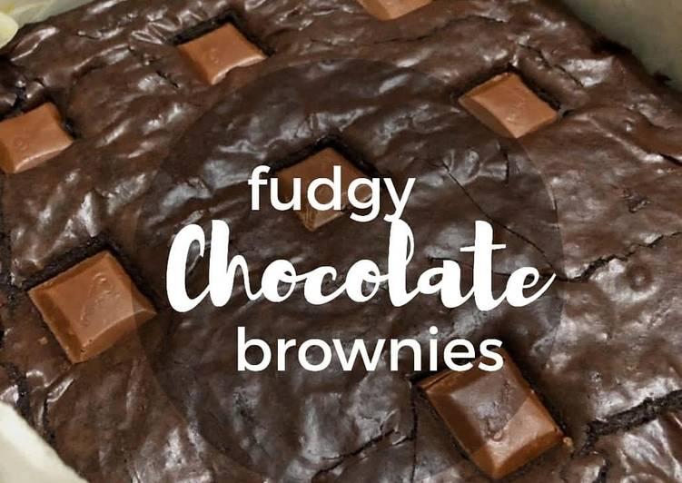 Cara Membuat Fudgy Chocolate Brownies Cepat