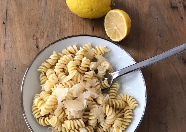 Pates au citron