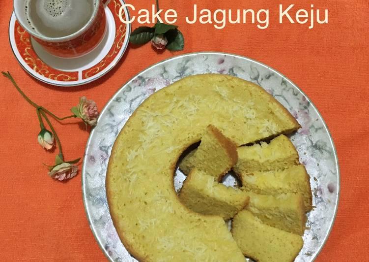 Cake Jagung Keju