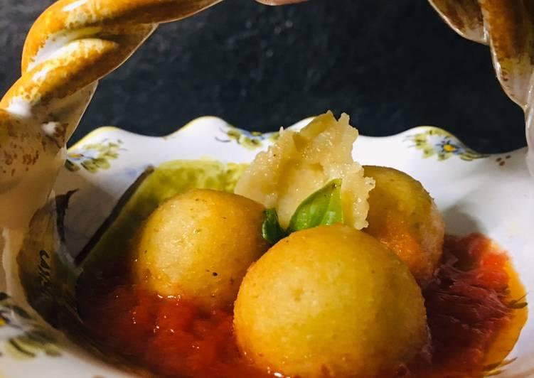 """Ricetta Pallottine """"cace e ove"""" (Pallotte cacio e uova) – piatto tipico della tradizione abruzzese"""