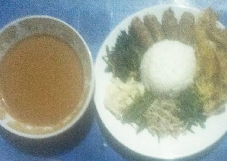 Nasi pecel original/jadul khas Kediri