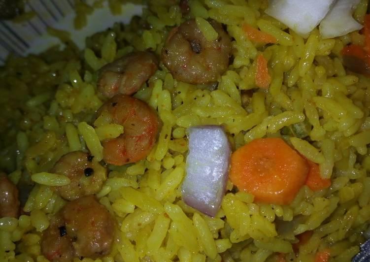 Recipe of Ultimate #Kadunastate Shrimp fried rice