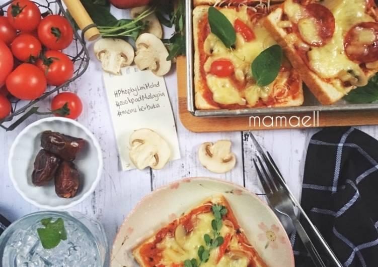 Cara Mudah Masak: Roti Pizza #phoPbyLiniMohd #menuberbuka  Enak