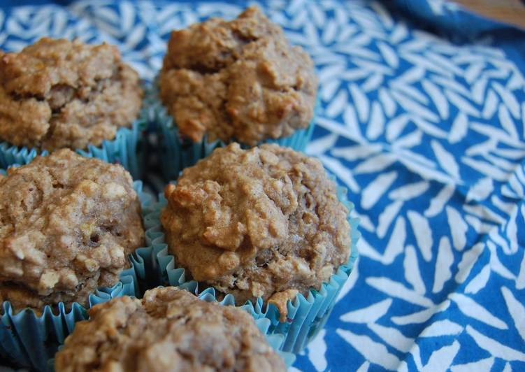 Easiest Way to Prepare Super Quick Homemade Banana-gingerbread Cupcakes
