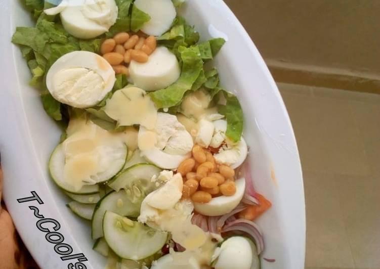 Recipe of Award-winning Simple Salad