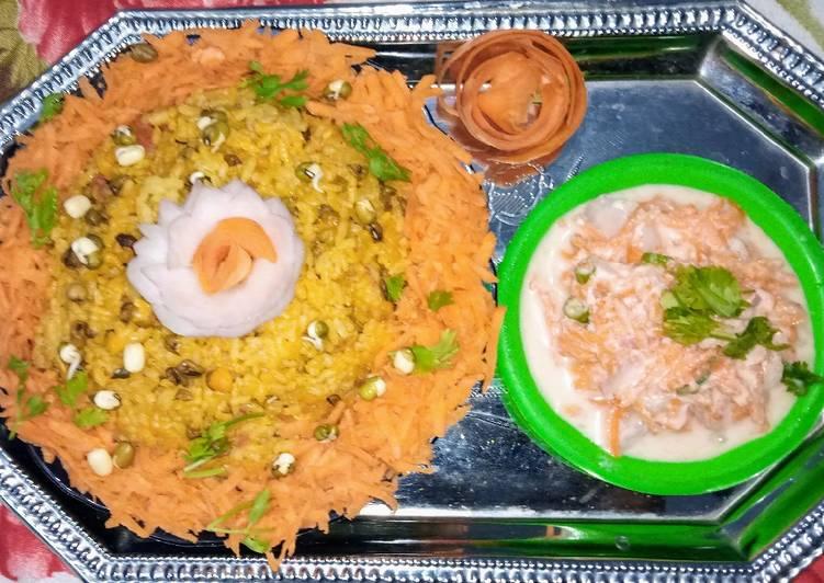 Easiest Way to Make Homemade Green moong Biryani