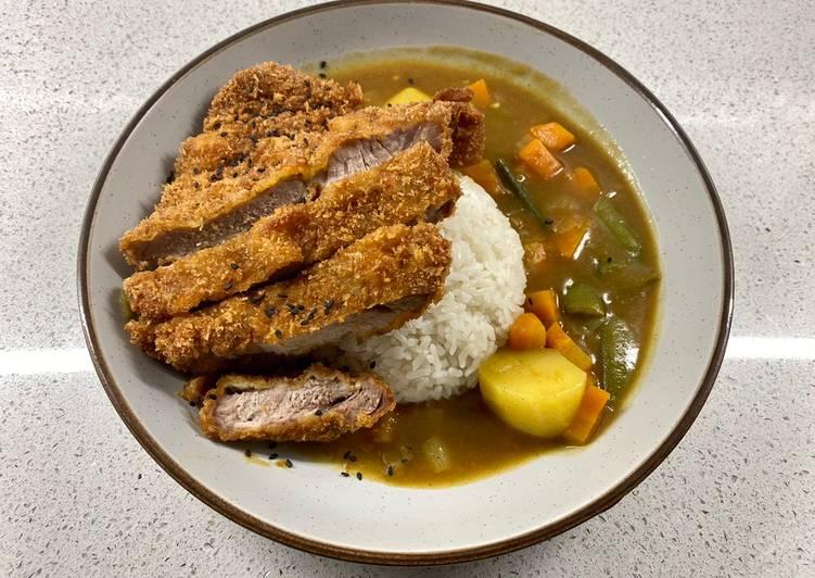 Easiest Way to Make Quick Tonkatsu or Katsu Curry