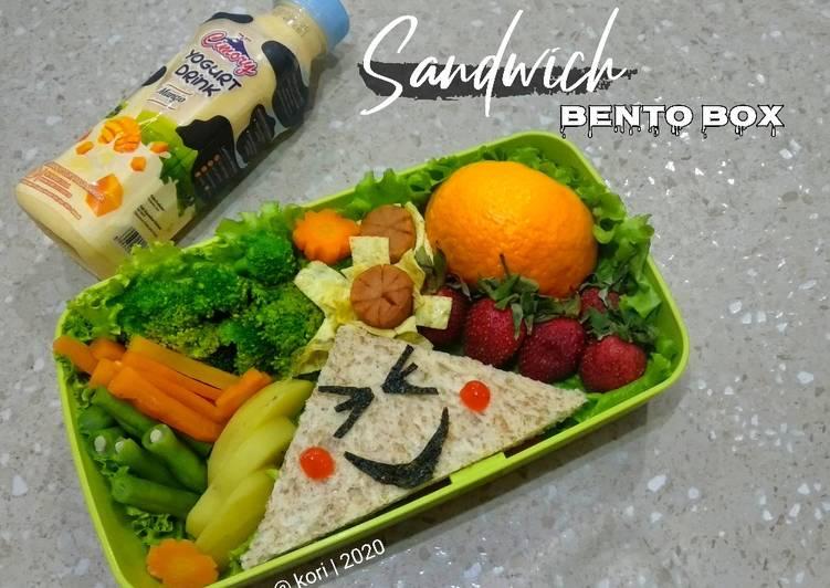 Menu Masakan Sandwich Bento Box Menu 4 Sehat 5 Sempurna Enak Resep Masakan Rumahan