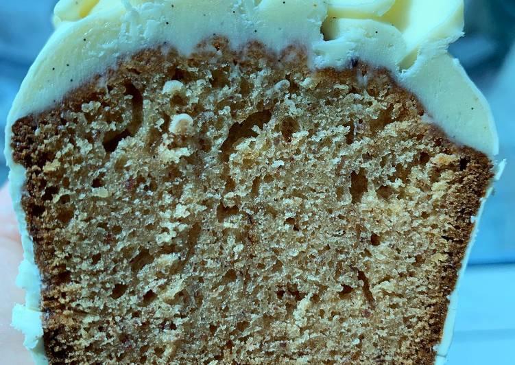 Cake vanille - Tonka du chef Christophe Michalak @4PassionFood