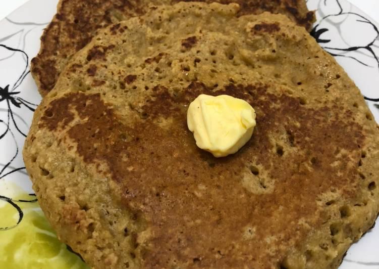 Cara membuat Pancake oat (rendah kalori/ diet)