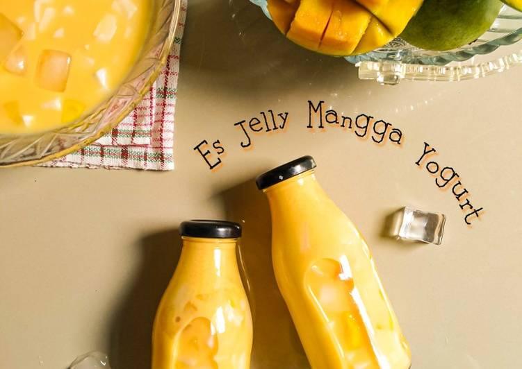 Es Jelly Mangga Yogurt