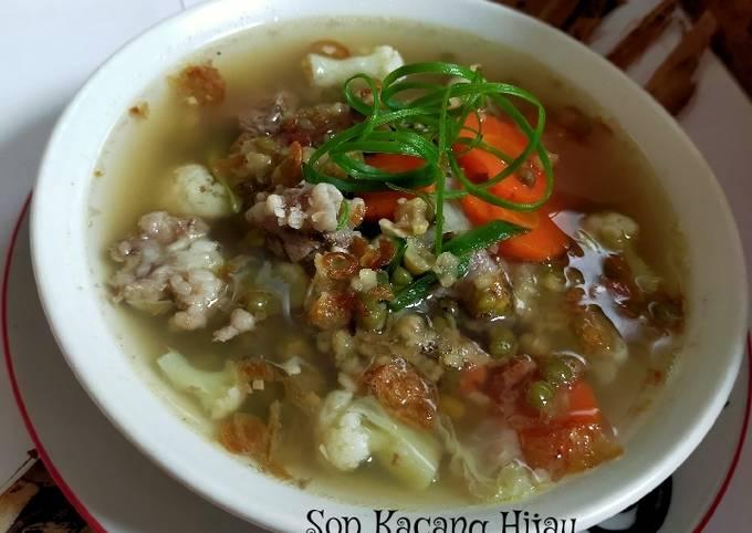 Sup Kacang Hijau Kaldu Sapi - projectfootsteps.org