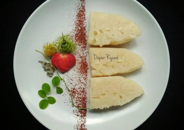 Apem Putih / Pak Thong Koh / Steamed White Sugar Cake - ganmen-kokoku.com