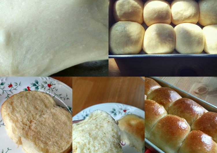 Roti Lembut-No susu-1x proofing-mudah diulen