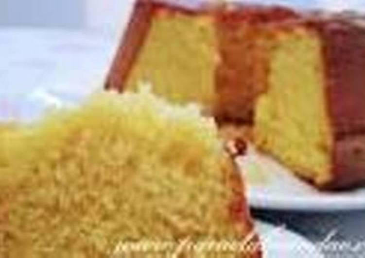 Easiest Way to Make Perfect Maize flour pressure cooker cake