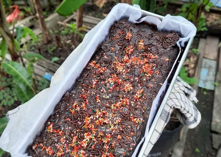 Brownies Oreo Super Mudah