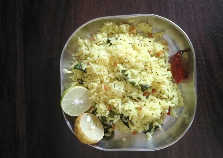 Easiest Way to Prepare Perfect Lemon rice