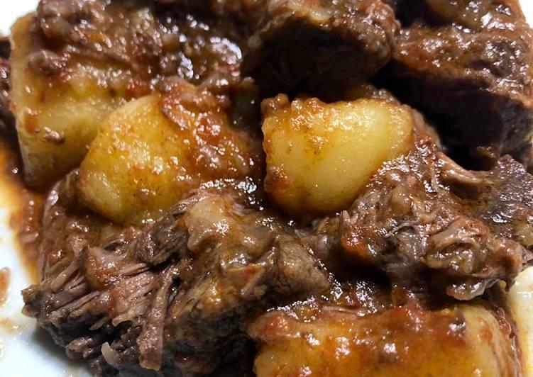 Ricetta Spezzatino di manzo con patate